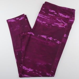The North Face Actice Leggings XL Purple Maroon